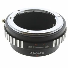 Nikon AIG F G mount Adapter Objektiv lens Fujifilm Fuji FX X Mount Pro1 a1 x-e2