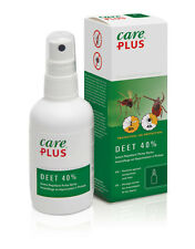 Care Plus 32983 40% Deet anti insetto & Zanzara Repellente Spray 60ml
