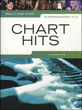 Really Easy Piano Chart Hits No2 Spring/Summer 2016 Sheet Music Book Adele Bowie
