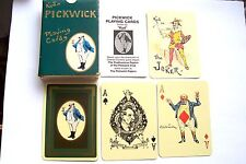 VINTAGE PLAYING CARDS NON STANDARD KYD'S PICKWICK CHARLES DICKENS 52+2J+2A+L