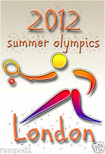 Olympic Poster-2012 London Summer Games -Tennis - Pictogram/Approx: 12.5x18.5 in