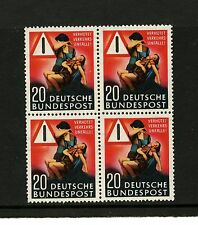 "Germany #694 (GE945) Comp Block of 4, ""Prevent Traffic Accidents"",MNH,CV$58.00"