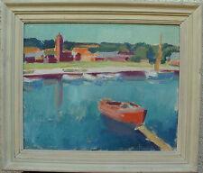 Kleinboothafen, unbekannter Expressionist, um 1940