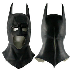 Full Head Batman Bruce Wayne Superhero Latex Cosplay Props Mask Helmet Halloween
