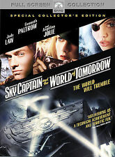 Sky Captain and the World of Tomorrow (DVD, 2005, Full Frame)