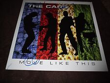 "THE CARS SIGNED""MOVE LIKE THIS"" ALL 4 MEMBERS R.I.P. BENJAMIN ORR.MINT! PROOF!"