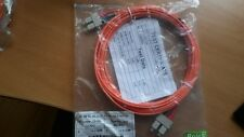 5M Meter SC-SC OM2 Duplex Fibre Optic Patch Lead Cable - Orange 50/125