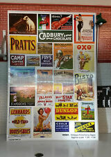 G LGB 1:24 Scale Vintage Station Adverts Notices Posters Railway Layout Diorama