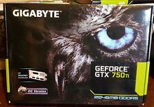 Gigabyte Geforce GTX 750 Ti GV-N75TOC-2GL 2GB OC Gold Plated HDMI Low Profile