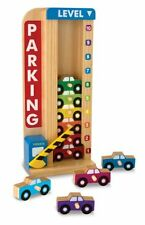 Melissa and Doug Stack and Count Parking Garage , New, Free Shipping