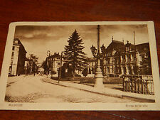 1950 CPA CARTE POSTALE 68 alsace entrée de la ville 68100 MULHOUSE