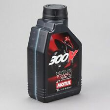 Motul 300V Factory Line 4T  -  1 Liter - 5W40 Synthetic Motor Oil - 106-836011