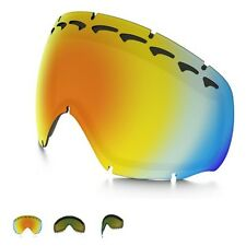 OAKLEY CROWBAR SNOW GOGGLE Dual Vent FIRE IRIDIUM Replacement LENS 02-118