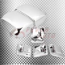 Chrome Side Door Handle Mirror Cover For Ford F250 F350 F450 Super Duty 99-07 FM
