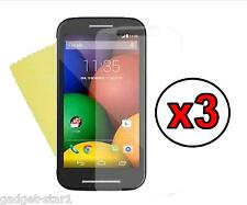 3x HQ CRYSTAL CLEAR SCREEN PROTECTOR COVER SAVER FILM GUARD FOR MOTOROLA MOTO E