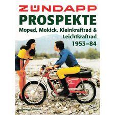 Zündapp-Prospekte Motorrad & Roller 1953-84 Werbung Modelle Typen Baureihen Buch