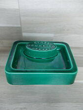Vintage ceramic advertising ashtray or name card holder - Claes meubelen Dessel