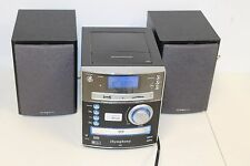 iSymphony M2  AM/FM Stereo SD/USB 30-Pin iPod/iPhone CD Compact System AS IS