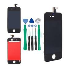 Black Full Front Frame Digitizer Touch Screen & LCD Assembly for IPhone 4S/4GS