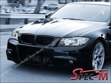Mist Black Front Grille Grill For BMW 2009-2011 E90 325i 328i 335i 4Dr Facelift