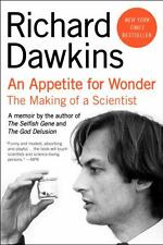 An Appetite for Wonder : The Making of a Scientist By Richard Dawkins Free Ship