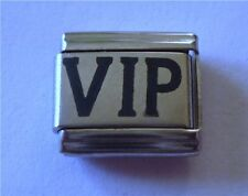 9mm Classic Size Italian Charm L9 Very Important Person VIP V.I.P.