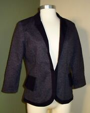 Womens CARTONNIER Blazer 6 * Gray Cropped Anthropologie SW06