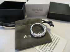 AVON STERLING SILVER 925 CABLE LINK RING Interlocking Pattern Size 6