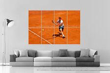 Rafael Nadal Tennis Poster A0 Larghezza Stampa