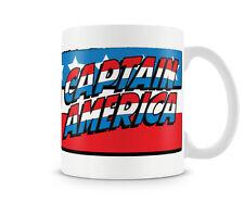 Captain America Flag Kaffee Becher Coffee Mug Tasse Marvel Classic Comics