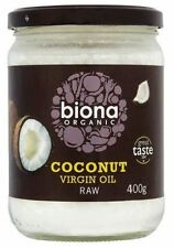 Biona Org Raw Virgin Coconut Oil 400g (Pack of 6)