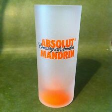 Absolut Mandrin Country Of Sweden Tall Shot Glass