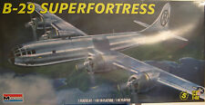 MONOGRAM 1:48 SCALE WWII B-29 SUPERFORTRESS WITH A 1:100 SCALE MESSERSCHMITT KIT