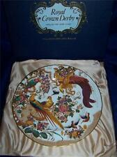 Stunning Royal Crown Derby Olde Avesbury Cabinet Plate MIB