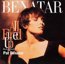 Pat Benatar - All Fired Up: The Very Best of Pat Benatar (CD, Sep-2001, 2 Discs)