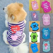 Fashion Summer Pet Dress Puppy Small Dog Cat Pet Vest T Shirt Apparel Clothes