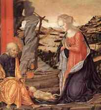 Metal Sign Francesco Di Giorgio Martini Nativity 1470 A4 12x8 Aluminium