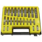 150PCS Mini Micro Power High Speed Steel Drill Bit Set Twist Kits 0.4-3.2mm New