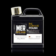 Mer New Ultimate Car Polish Professional Wax Car Van Bike 500Ml