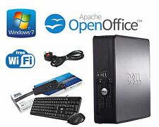 Dell Optiplex 780 SFF Intel Core 2 Duo @ 2.90GHz 4GB RAM 320GB HDD Windows 7 PC