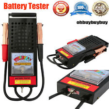 6V And 12V 100 Amp Car Van Auto Battery Load Drop And Charging System Tester OUY