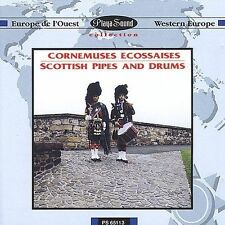Various Artists-Scottish Pipes and Drums  CD NEW