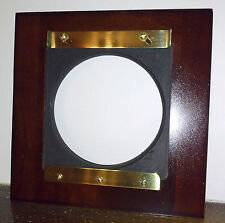 "1 ADAPTER 6x6"" LINHOF BOARDS TO B&J / KODAK EASTMAN 2D 8x10"" Sol.Cherry & Brass"