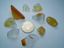 Assorted Surf Tumbled Sea Glass Lot 3228