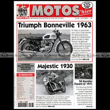 MOTOS D'HIER N°38 KREIDLER 50 FLORETT LF MAJESTIC TRIUMPH 650 BONNEVILLE T120