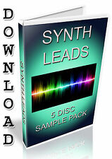 LEADS SAMPLE PACK - FL STUDIO - FRUITY LOOPS - ABLETON - WAV FILES / SAMPLES