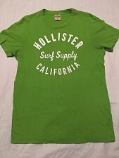 Hollister HCO Medium Men's Green Short Sleeve Muscle T-Shirt Fitted Athletic