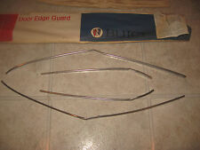 1967 1968 BUICK LESABRE ELECTRA 4DR ACCESSORY DOOR EDGE GUARDS GM 981231 NOS
