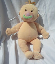 """Manhattan Toy Co Baby Doll Magnetic Pacifier 15"""" Plush Soft Toy Stuffed Animal"""