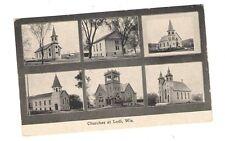 postcard Lodi Wisconsin WIS WI